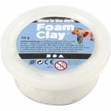 Foam clay glow in the dark