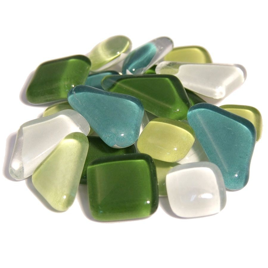 Soft glas mix groen